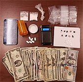 Parole/Probation Compliance Sweep confiscations