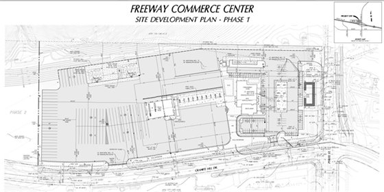 MA21009 PROPOSED SITE PLAN – PHASE 1 DEVELOPMENT