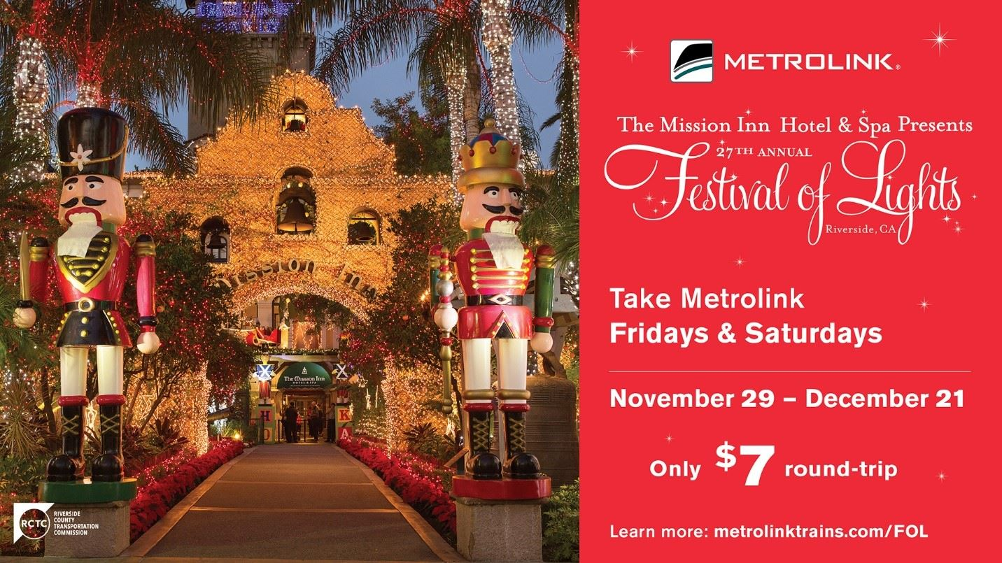 metrolink festival of lights rate