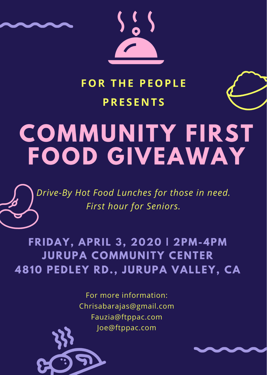 Community First Food giveaway
